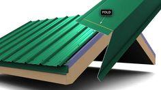 How to install metal roof rake trim for Union's MasterRib panel.