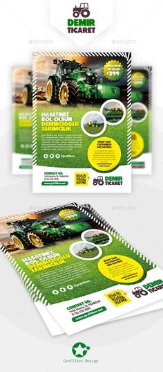 Garden Landscape Flyer Template PSD, InDesign INDD. Download here: https://graphicriver.net/item/garden-landscape-flyer-templates/17620883?ref=ksioks