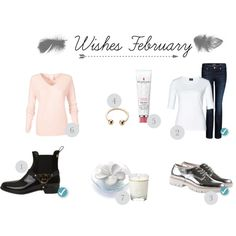 Wishes February by jess-i-superheld on Polyvore featuring polyvore, fashion, style, women's clothing, women's fashion, women, female, woman, misses and juniors