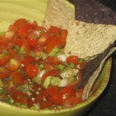 Wonderful salsa! Yummy! Click for recipe