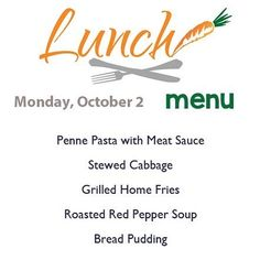 Happy Monday! Here's our hot bar menu served from 11-2.