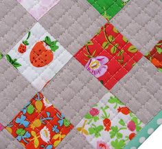 Red Pepper Quilts: non-quilty sewing Would make a great table pad for the dining room