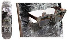a78897ae1a2651 Baptiste and Gianni Vuerich hand made sunglasses from skateboards Lunettes  De Soleil, Style Homme,