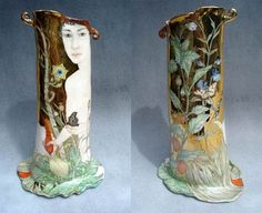 "porcelain Art NEW__IRINA Zaytceva """"Lost in the wood """" Tea Pot In the Labyrinth: April 2008"