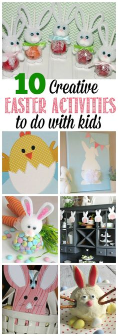Love these fun Easter ideas to do with the kids! // cleanandscentsible.com