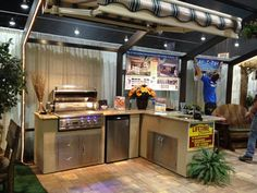 enclosed outdoor kitchens | Outdoor Kitchens Portfolio of Our Installations