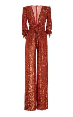 Sequin Jumpsuit, Designer Jumpsuits, Naeem Khan, Harry Styles, Spring Summer, Sequins, Rompers, My Style, Long Sleeve