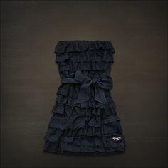 Hollisterco. Bluffs Beach dress, navy