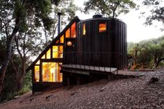 Epic Tiny Cabin featured in Handmade Houses