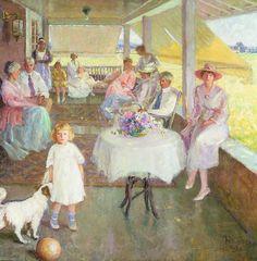 Family Gathering - Pauline Palmer