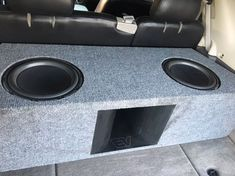 Trailblazer ss tbss car audio custom install subs enclosure ported box subwoofers Built In Entertainment Center, Home Entertainment, Custom Car Audio, Custom Cars, Custom Subwoofer Box, Trailblazer Ss, The Big Comfy Couch, Ported Box, Home Theater Seating