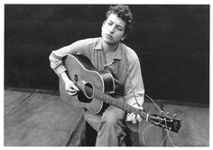 People - Bob Dylan, New York City, 1962 by 9teen87's Postcards, via Flickr