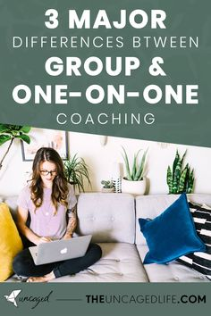 There are a few very key differences between coaching one-on-one and leading groups, and I wanted to outline those here for you in case you are thinking about creating your first group program. #BusinessTips #Coaching #GroupProgramIdeas