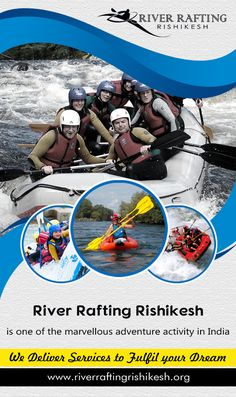"#River_Rafting_Rishikesh is one of the marvellous #adventure activity in India. Rishikesh is well known as ""the adventure capital of India"". Every year numerous adventure enthusiasts come here to #splash the #water. www.riverraftingrishikesh.org Call us for booking: +91-8445144444"