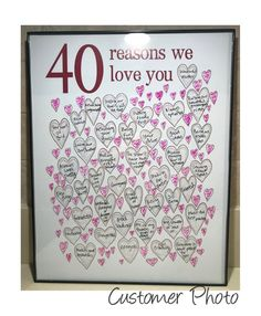 diy birthday gifts for sister Birthday Gifts for Woman Birthday Prints For 40th Bday Ideas, 40th Birthday Gifts For Women, Birthday Gift For Wife, Birthday Gifts For Best Friend, 40th Birthday Parties, Birthday Woman, Birthday Diy, Best Friend Gifts, Friend Birthday