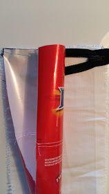 Lumoava Tekstiilityö: karkkipaperipussukka Coca Cola, Canning, Coke, Home Canning, Conservation