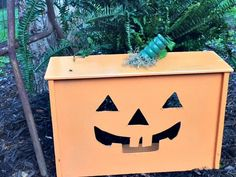 This fun fall upcycle will make your porch the cutest on the block!