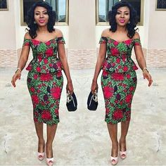 Clothing ideas for latest african fashion look 247 Latest African Fashion Dresses, African Dresses For Women, African Print Dresses, African Print Fashion, Africa Fashion, African Attire, African Wear, African Women, Ankara Fashion