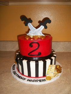 Pirate Cake  By: cakesbykayla