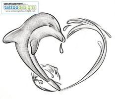 dolphin tattoos | Dolphins Tattoos For Women Image | Tattooing Tattoo ...