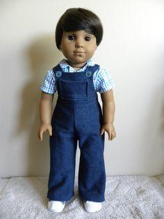 18 inch American Girl Boy Doll by DollClothesbyBella on Etsy American Boy Doll, American Doll Clothes, Boy Doll Clothes, Doll Clothes Patterns, Ag Dolls, Girl Dolls, 18 Inch Boy Doll, Journey Girls, Dollhouse Dolls