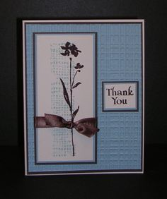 WT433, Thank You by Pam MacKay - Cards and Paper Crafts at Splitcoaststampers
