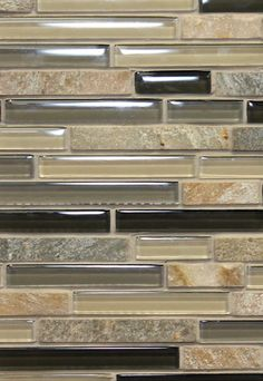 12 X 12 Decorative Tiles Highrise  Glass And Metal Mosaic 12X12 Mesh Mount Sheet Free