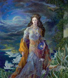 "Kinuko Y. Craft ""Goddess of the Universe"""