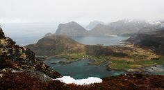 https://flic.kr/p/HCpmGM | Offersøya view | Offersøya view, Lofoten islands.  Six months in Norway.
