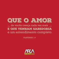 Compartilhe, torne esse versículo conhecido. #ARCABR #Filipenses