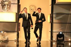 BAFTA: The Doctor & Sherlock on the same stage. One of the many reasons why Britain is better.