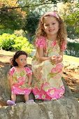 Dolly and Me Dress Pdf Pattern