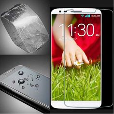 Explosion Proof Tempered Glass Screen Protector For LG G2 D802 D803