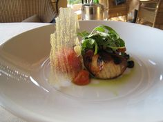 grilled swordfish from Andrea Pelican Hill