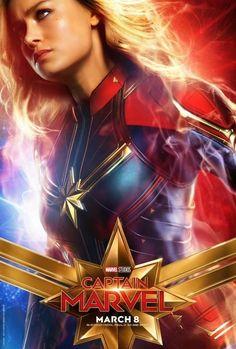 Poster de Carol Danvers do filme Captain Marvel do Marvel Studios Marvel Dc, Marvel Comics, Films Marvel, Marvel Hela, Marvel Live, Disney Marvel, Disney Pixar, Walt Disney, Poster Marvel