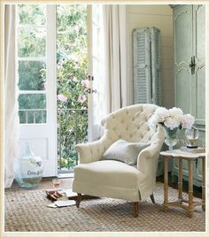 Understated, Dreamy and Lived in...See more at thefrenchinspiredroom.com