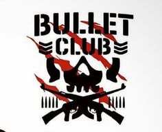 Switch Blade Jay White Bullet Club Logo