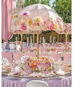 Shower Party Decoration Ideas Love these umbrella centerpieces. Perfect for an afternoon or garden wedding or baby shower.Love these umbrella centerpieces. Perfect for an afternoon or garden wedding or baby shower. Fake Flower Centerpieces, Umbrella Centerpiece, Baby Shower Centerpieces, Wedding Centerpieces, Wedding Table, Wedding Decorations, Garden Wedding, Centerpiece Ideas, Umbrella Decorations