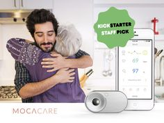 A portable health tracker designed for monitoring and sharing your heart and vascular health measurements with your loved ones