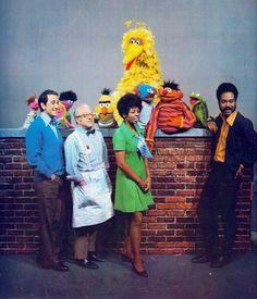 Old-School Sesame Street Sesame Street Muppets, Sesame Street Characters, Les Muppets, Fraggle Rock, The Muppet Show, Kids Tv, 80s Kids, Jim Henson, Big Bird