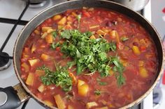 Low-Calorie, Almost Fat-Free Vegetable Chili Recipe