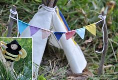 fairy camping tents and tipis to make
