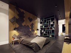 12 amazing interior house color combination fit for modern living that can make the entire room look better and comfortable. Home Bedroom, Modern Bedroom, Bedroom Furniture, Bedroom Decor, Master Bedroom, Interior House Colors, Home Interior Design, Interior Architecture, Interior Trailer