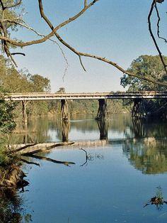 Bridge, Scenery, Fishing, Bucket, Victoria, Australia, River, Places, Photos