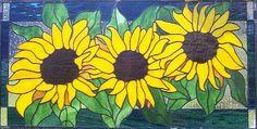 Sunflower Transom-25-5/8 x 13