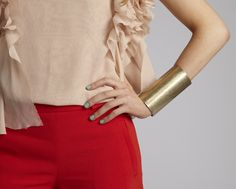 From my fashion blog www.ashesoflaughter.com! Love Red & Nude!!!!