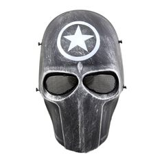 Airsoft Halloween Cosplay Full Face Protection Skull Mask CS Army Tactical Gear | eBay
