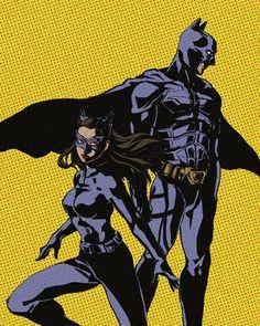 TDKR Batman and Catwoman #dccomics