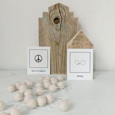 Klein Huis Grote Wensen: toepasselijk Peace Infinity House Home Huis