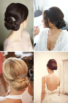 O charme dos penteados baixos Party Hairstyles, Wedding Hairstyles, Wedding Make Up, Wedding Ideas, Hair Care, Manicure, Hair Styles, Outfits, Fashion